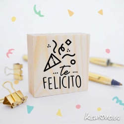 SELLO EDUCATIVO TE FELICITO