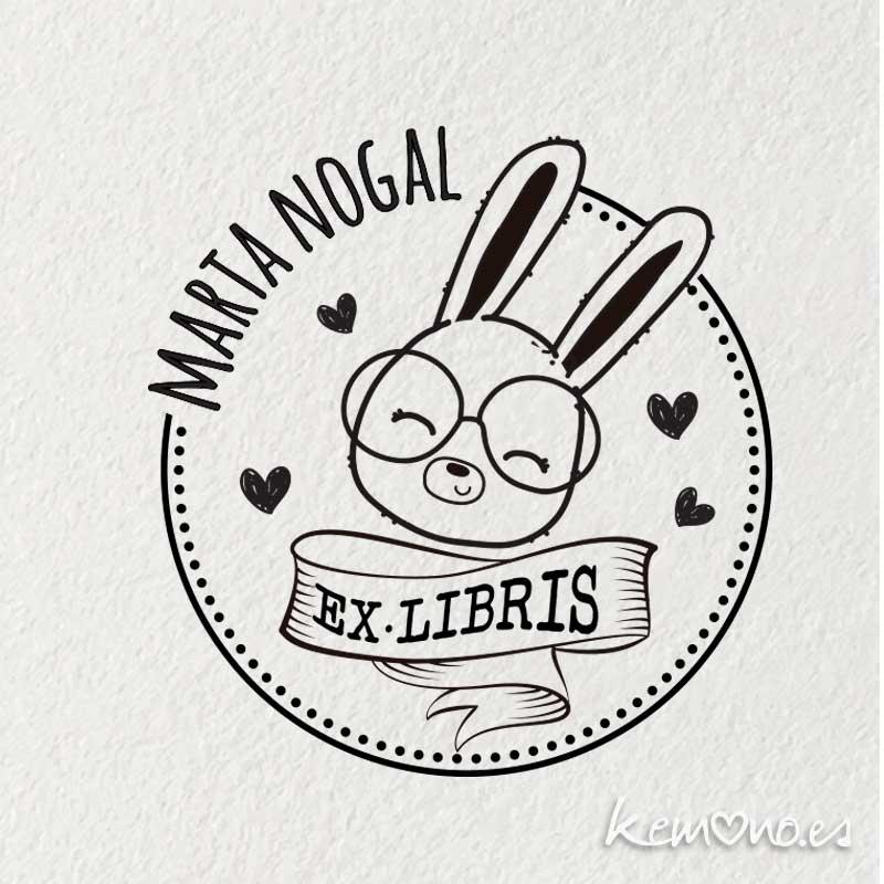 EX-LIBRIS-INFANTIL-CONEJITO