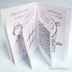 Libro colorear boda