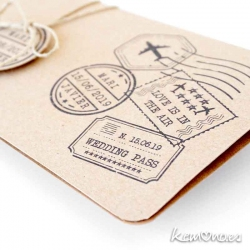 invitacion boarding pass